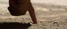 writing_in_dust